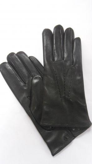 Перчатки зимние кожаные мужские HRAD 1590 black
