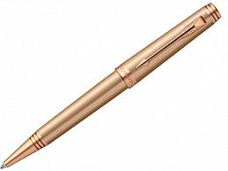 Ручка шариковая Parker Premier Титан (Monochrome - Pink Gold PVD) S0960830