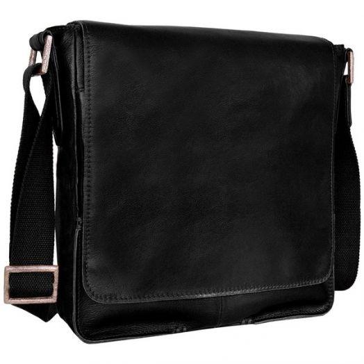 Мужская деловая сумка HIDESIGN Fred-01 black