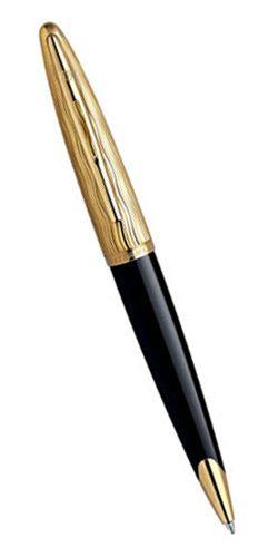 Шариковая ручка Waterman Carene Золотая волна М синий стержень S0909810