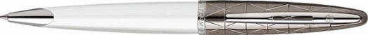 Шариковая ручка Waterman Carene Contemporary White ST М синий стержень S0944680
