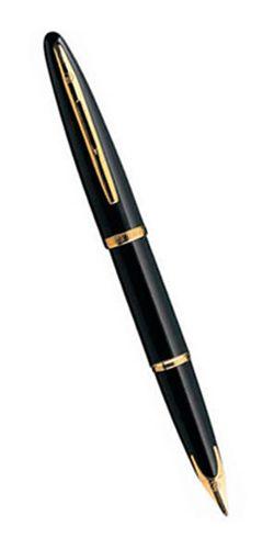 Шариковая ручка Waterman Carene, цвет: Black GT, стержень: Mblue S0700380