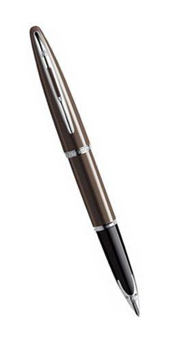 Шариковая ручка Waterman Carene, цвет: Frosty Brown Lacquer ST, стержень: Mblue S0839740