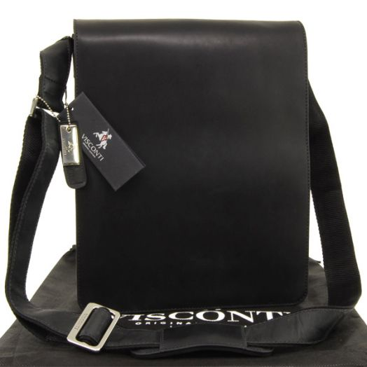 Мужская сумка Visconti Hunter Jasper 18410 Black