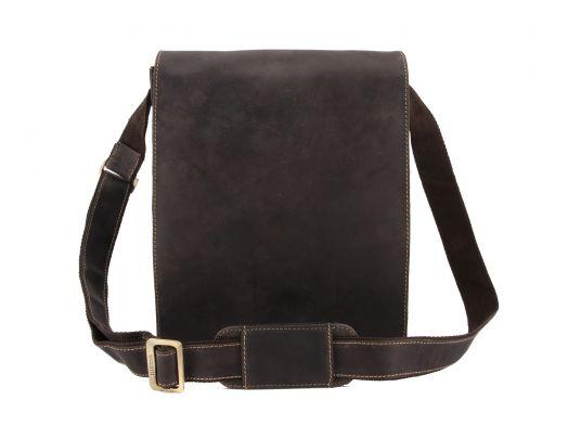 Мужская сумка Visconti Hunter Jasper 18410 Oil Brown