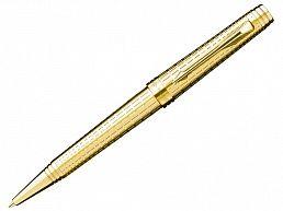 Ручка шариковая Parker Premier Lancaster Deluxe Graduated Chiselling GT M S0887960
