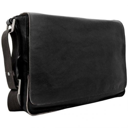 Мужская деловая сумка HIDESIGN Fred-02 black