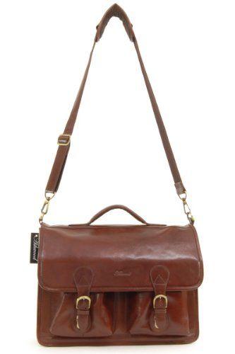Портфель Ashwood Leather Chelsea 8190 Chestnut Brown